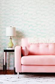 Temporary Fabric Wallpaper by Diy Fabric Wall Treatment How To Use Fabric As Temporary