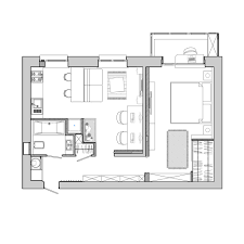 Kitchen Floorplans Apartment Designs For A Small Family Young Couple And A Bachelor