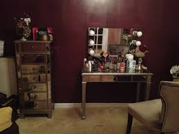 bedroom decorative pier one imports vanity and matching mirror