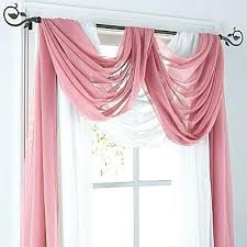 Window Scarves For Large Windows Inspiration Hanging Drapery Scarves Quickweightlosscenter Us