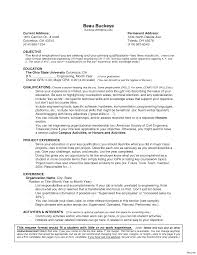 college graduate resume no experience summary for resume with no experience job student vesochieuxo