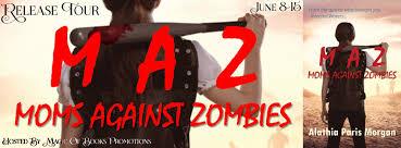 liza o u0027connor author moms against zombies by alathia paris morgan