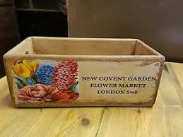 wooden storage box new covent garden flower market london sw8