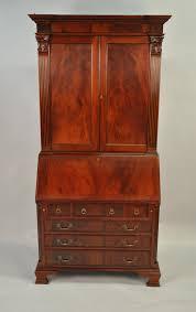 Large Secretary Desk by Mahogany Antique Styling Colonial Secretary Desk Ebay