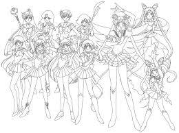 sailor moon coloring pages tsukino ikuko kenji coloring