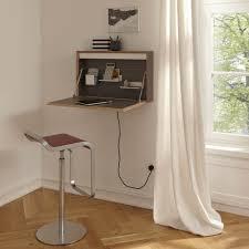 flatbox grey fold away wall desk designers avenue