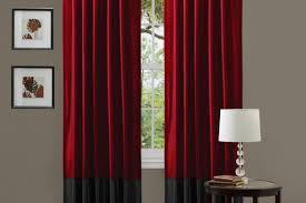 Amazon White Curtains Curtains Beautiful White Screen With Red Curtains White And Red