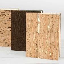 Handmade Photo Albums Eco Cork Book From Blue Sky Papers