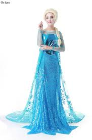 Elsa Halloween Costume Adults Compare Prices Ice Princess Costume Shopping Buy