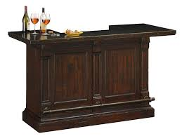 Metal Bar Cabinet 693030 Rustic Hardwood Wine And Bar Console Furnishings Howard Miller