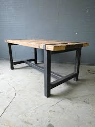 Metal Dining Room Chair Dining Table Reclaimed Wood Dining Table Metal Chairs And Room