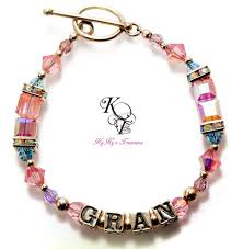 s day bracelet with birthstones personalized mothers bracelet mothers jewelry birthstone bracelet