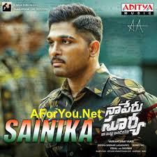 download songs sainika naa peru surya naa illu india 2018 telugu mp3 song