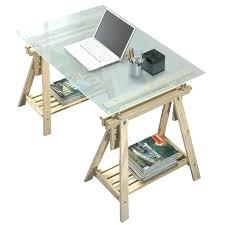 bureau ikea plateau verre bureau treteau bureau ikea linnmon lerberg table blanc ikea