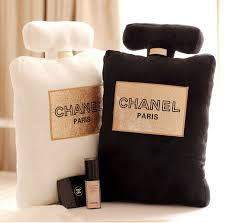 chanel perfume black friday cute soft pillow in the shape of chanel perfume bottle comes in 3