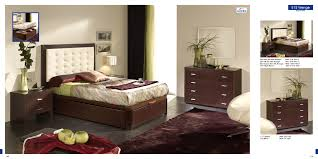 Wenge Bedroom Furniture M 77 Nightstand Wenge Esf Furniture Modern Manhattan