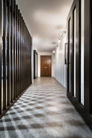 corridor vertical cladding escenarios pinterest interiors