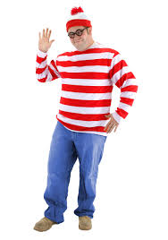 plus size where u0027s waldo costume
