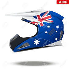motocross helmets australia original motorcycle helmets with flag of australia extreme enduro