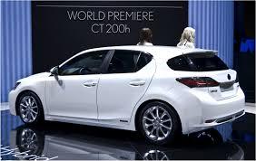 lexus ct200h vs audi a3 sportback 2014 lexus ct200h shows facelift at 2013 guangzhou show electric