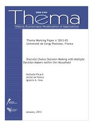 bureau de change cergy discrete choice decision with pdf available