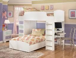 bedroom dazzling kids white bedroom sets appealing set with desk