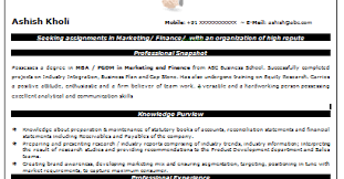 Sample Resume For Freshers Mba Finance And Marketing by Over 10000 Cv And Resume Samples With Free Download Beautiful Mba