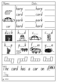 r controlled vowels or ar printable worksheets journeys reading