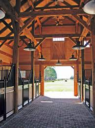 Loafing Shed Plans Horse Shelter by Beautiful Timber Frame Horse Barn With High End Finishes