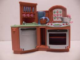 loving family stove oven dollhouse kitchen furniture fisher price
