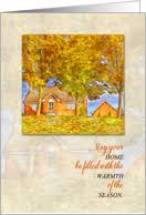 thanksgiving in your new home cards from greeting card universe