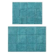 Aqua Bathroom Rugs Buy Aqua Bath Rug From Bed Bath Beyond