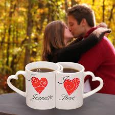 Heart Shaped Mugs Personalized Heart Mugs Wedding Favours Canada Online