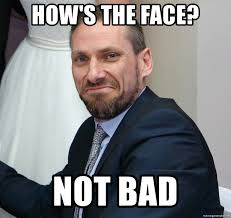 Not Bad Meme Generator - how s the face not bad not bad chris meme generator