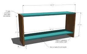 Simple Wooden Bench Design Plans by Ana White Spa Bench Diy Projects