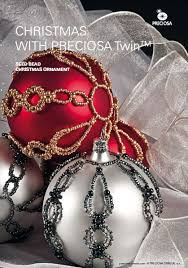 beautiful beaded christmas ornament tutorial the beading gem u0027s