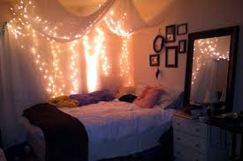 Bedroom String Lights Ideas Ways Create A Trends Including Attractive Bedroom String