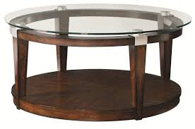 table round glass coffee table with wood base foyer basement