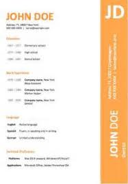 resume format styles cv help brighton