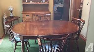 pennsylvania house cherry dining room set pennsylvania house solid cherry wood diningroom table chairs