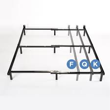 table awesome size adjustable steel bed frame with casters beds