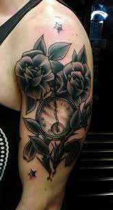 clock tattoo done by vinny at tatu tattoo in chicago tattoos