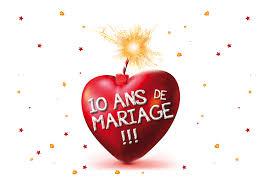 anniversaire mariage 10 ans anniversaire 10 ans de mariage de mariage
