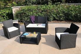 Outdoor Patio Furniture Clearance by Elegant Outdoor Wicker Furniture Sets Clearance Btm Rattan Garden