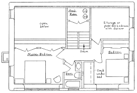 saltbox floor plan valine