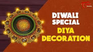 diya decoration for diwali creative corner diwali special 2017
