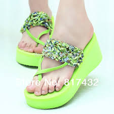 Decorate Flip Flops Sandals Platform Picture More Detailed Picture About Fashion