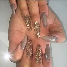 the 25 best acrylic nails glitter ideas on pinterest glitter