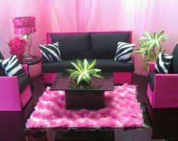 zebra living room set doll furniture for barbie monster high bratz living room