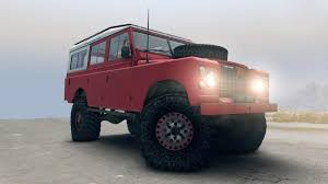 red land rover defender rover defender red for spin tires